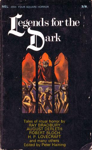 Peter Haining Legends For The Dark