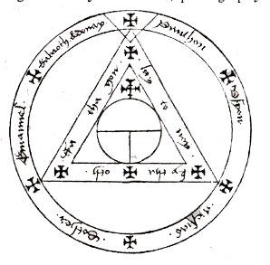 scary pentagram